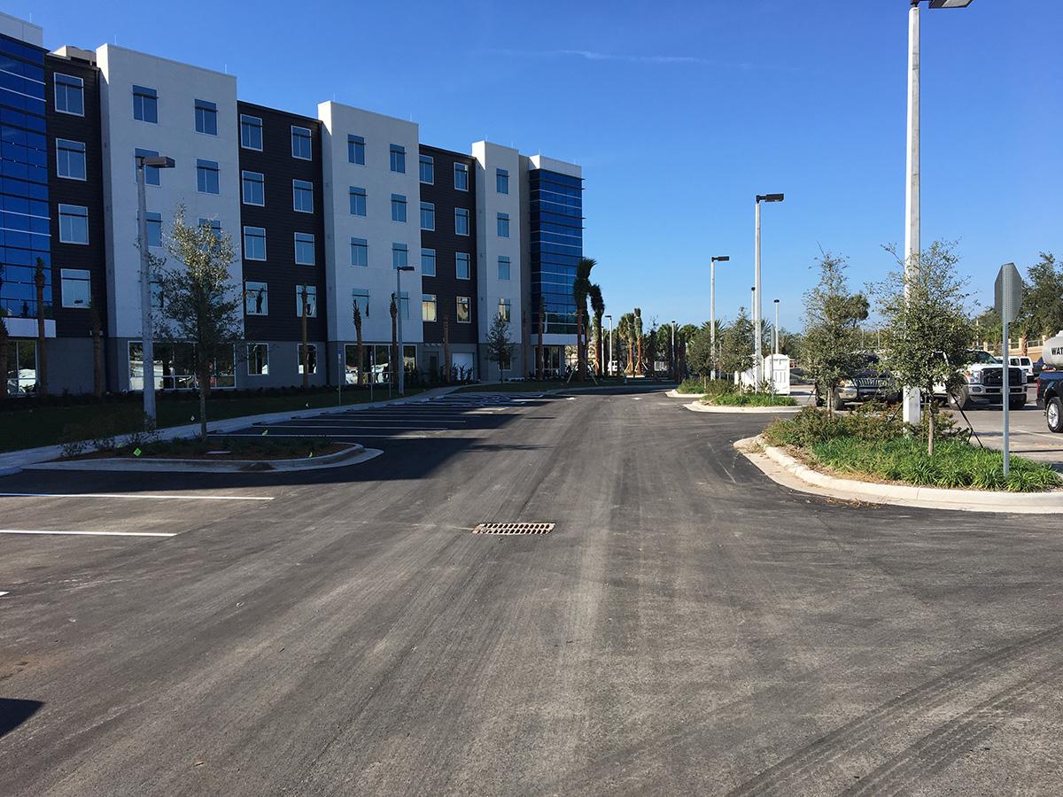ERAU Parking Lot Dorm2_1200
